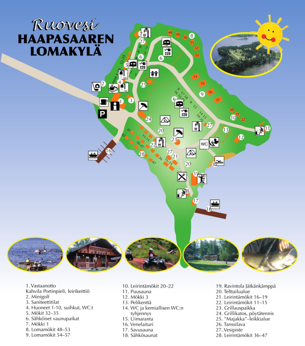 Haapasaari_Map